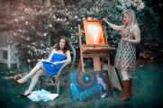 3 Lisa Coronado and Anna Mroczkowski, photo by Dawndra Budd