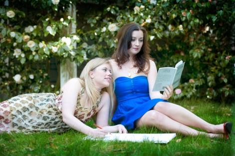 7Anna Mroczkowski & Lisa Coronado of Artists for Artists, photo by Dawndra Budd