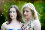 Lisa Coronado and Anna Mroczkowski, photo by Dawndra Budd