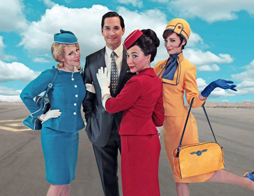 Boeing Boeing, photo courtesy of Seattle Repertory Theatre