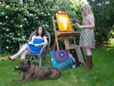 Lisa Coronado, Bruce and Anna Mroczkowski, photo by Dawndra Budd