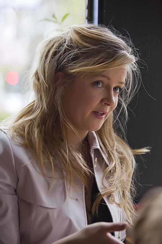 Charlotte Austin co-author of A Better Bombshell