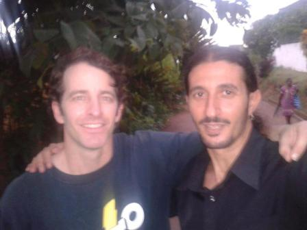 David McDannald and Ofir Drori reunited in Cameroon last week