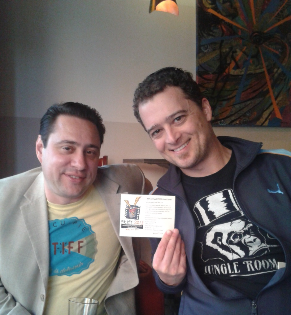 STIFF Organizers, Tim Vernor & Will Chase