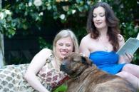 Anna Mroczkowski Lisa Coronado and Bruce, photo by Dawndra Budd